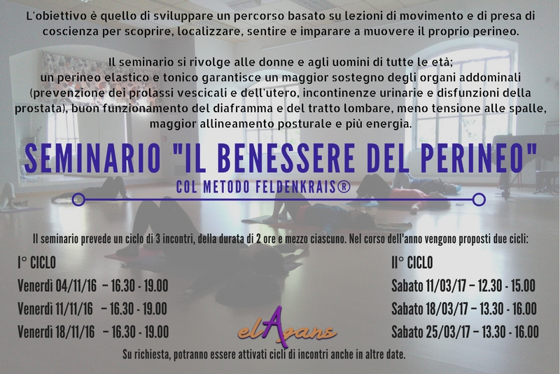 Feldenkrais Reggio Emilia - Il benessere del Perineo